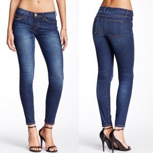 CURRENT ELLIOTT Dark Skinny Jeans Blueberry Jam 29